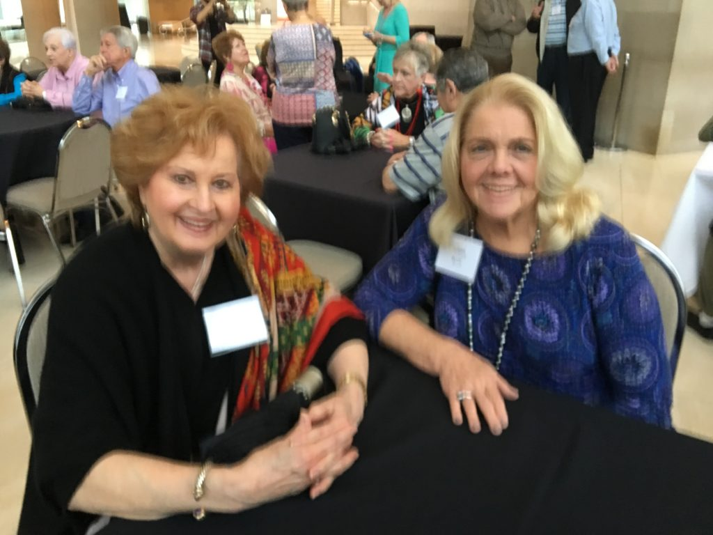 Kathy Stevens and Susan Blue
