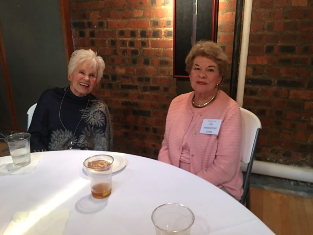 Judy Goold Shotwell and Kay Vanderpool Gunn