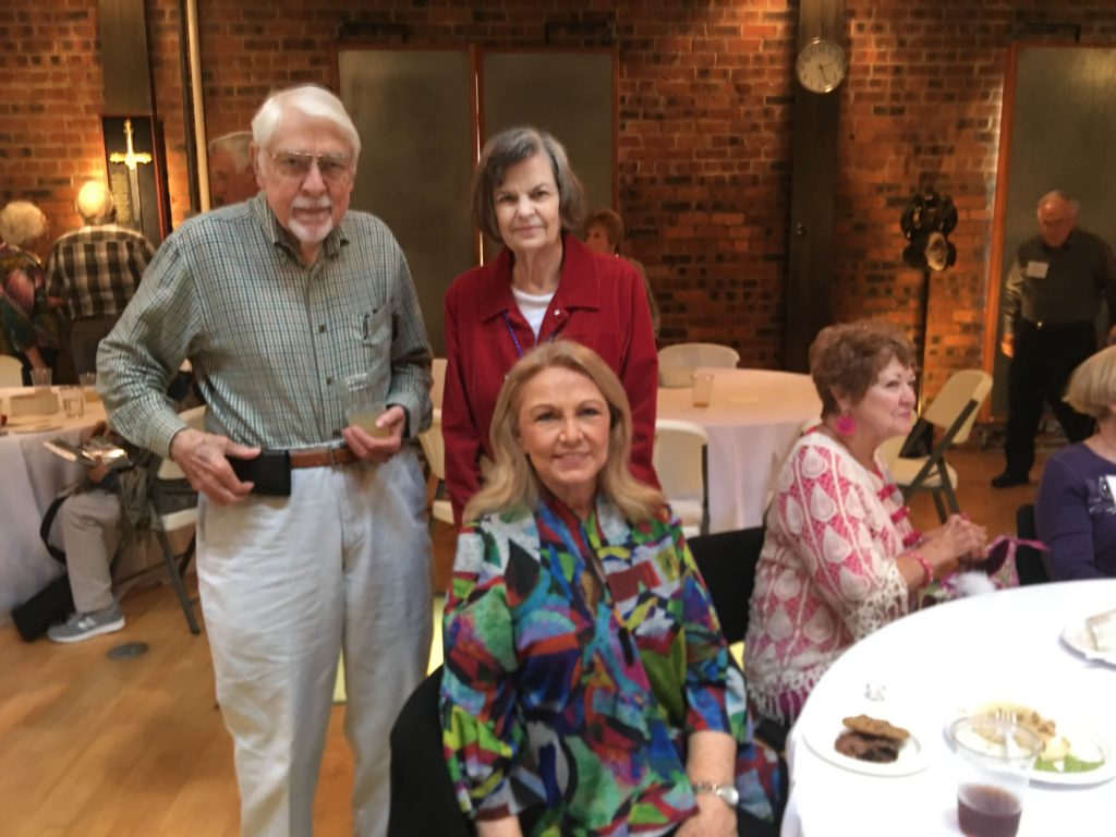 Jerry Dunaway and Gail Fues Dunaway, Wanda Cunningham Walker, Nancy Hankins Swan