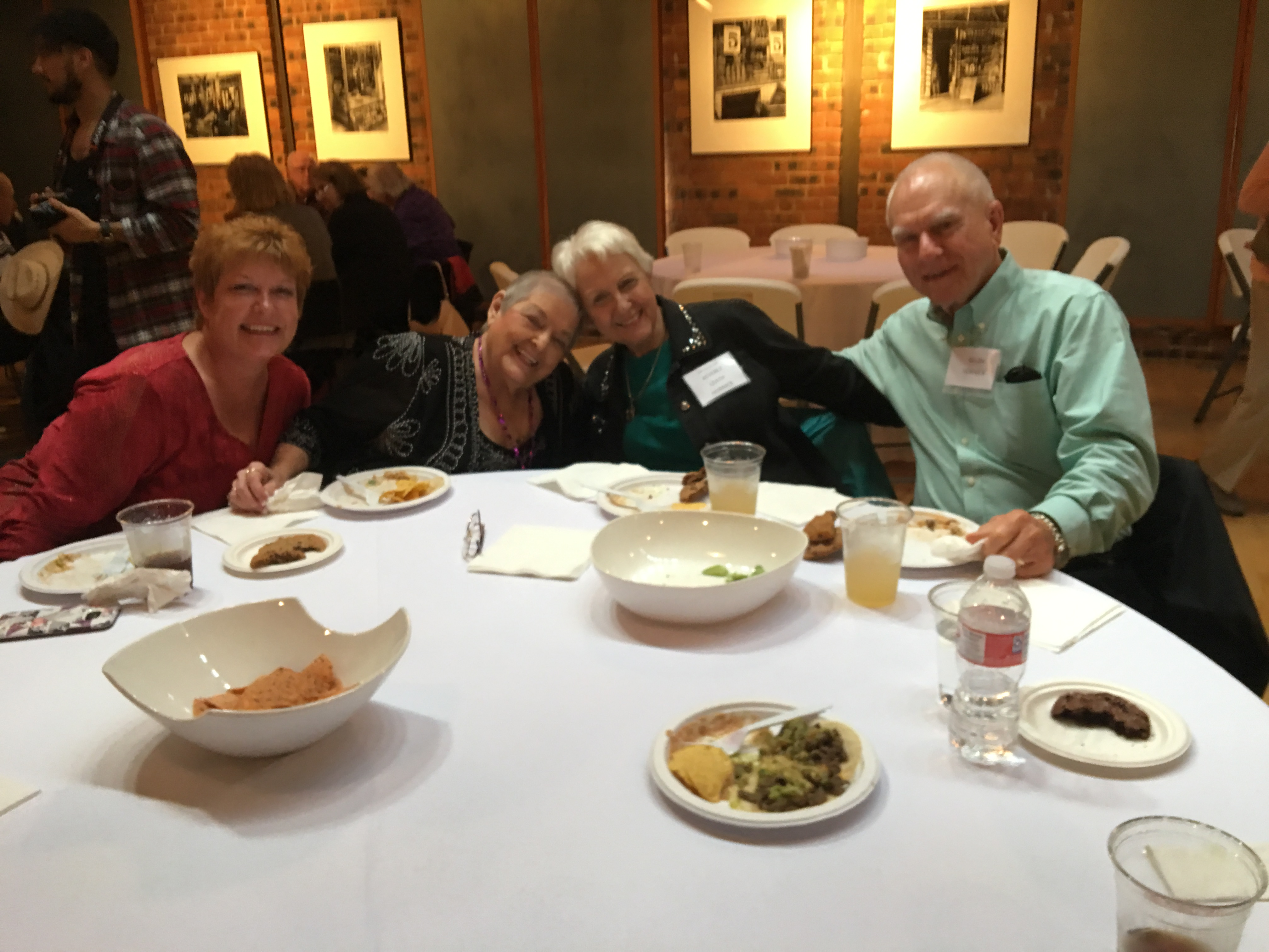 Marti Smith, Glenna Fawver Smith, Beverly Leath Hornick, Ralph Hornick